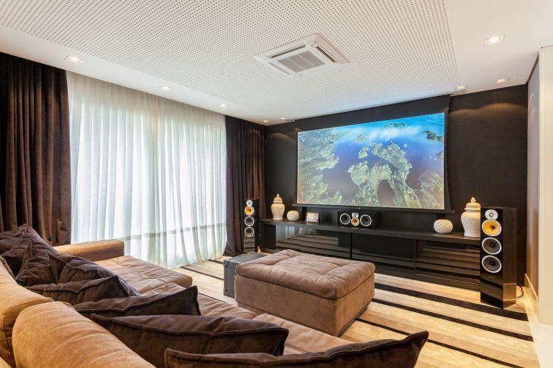Sala De Tv Tipo Cinema ~ Transforme sua sala em um cinema com home theater  SmartTouch