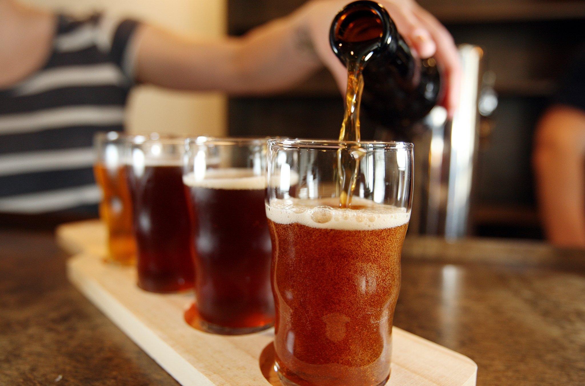 cerveja-degustação em santos