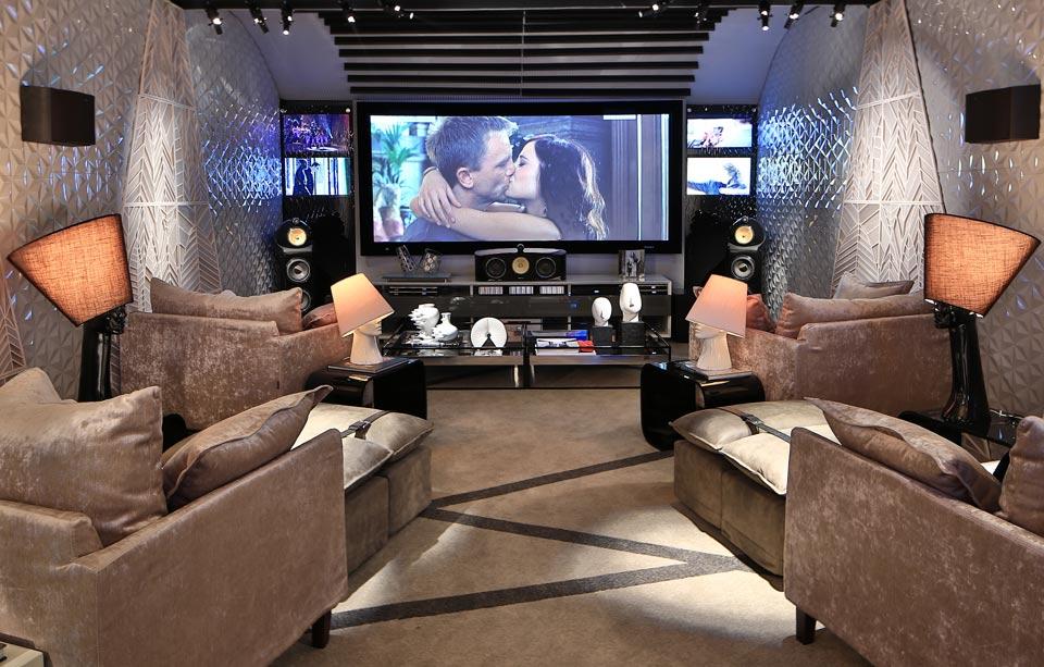 cinema em casa - home theater em Santos