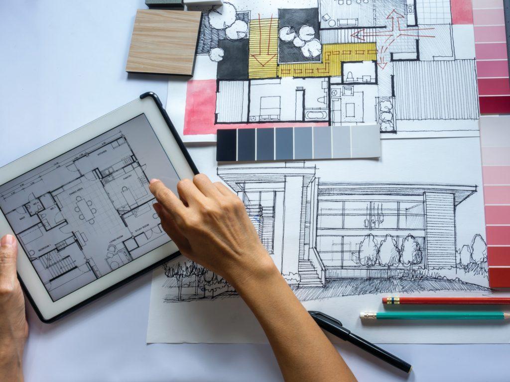Arquiteto. engenheiro ou um designer de interiores: quando contratar cada um