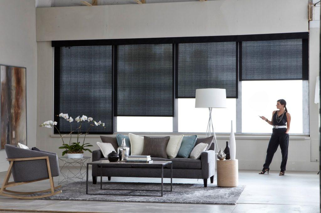 automação residencial de cortinas e persianas