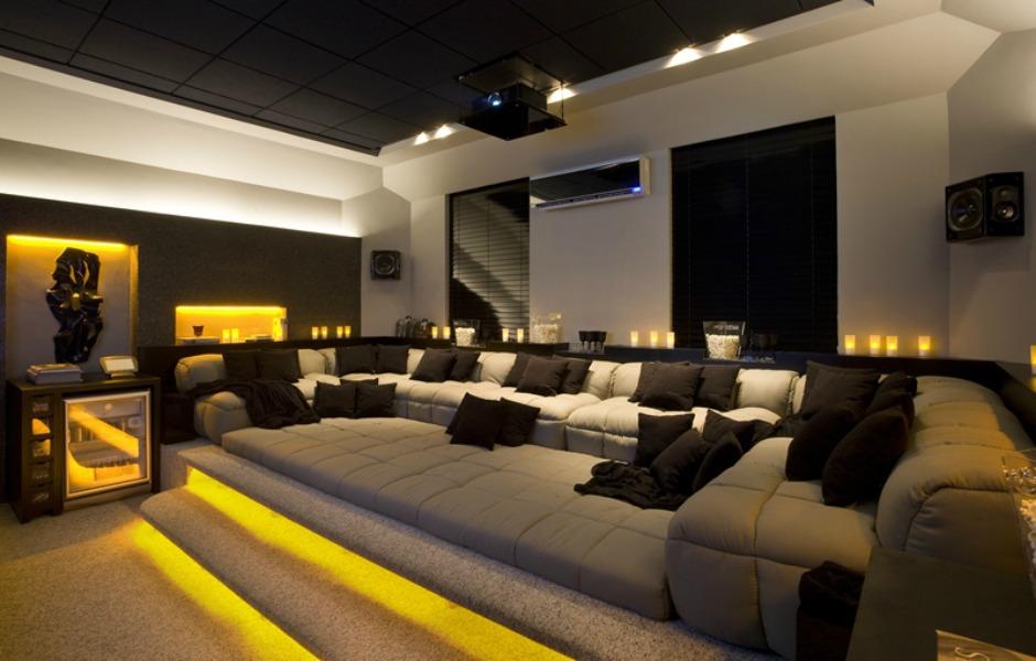 tratamento acústico para sala de home theater