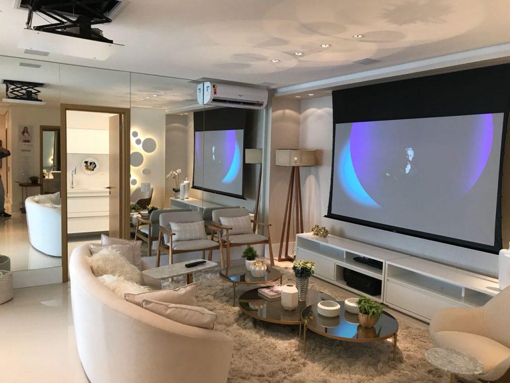 Qual a tela de projeção ideal para o seu Home theater?