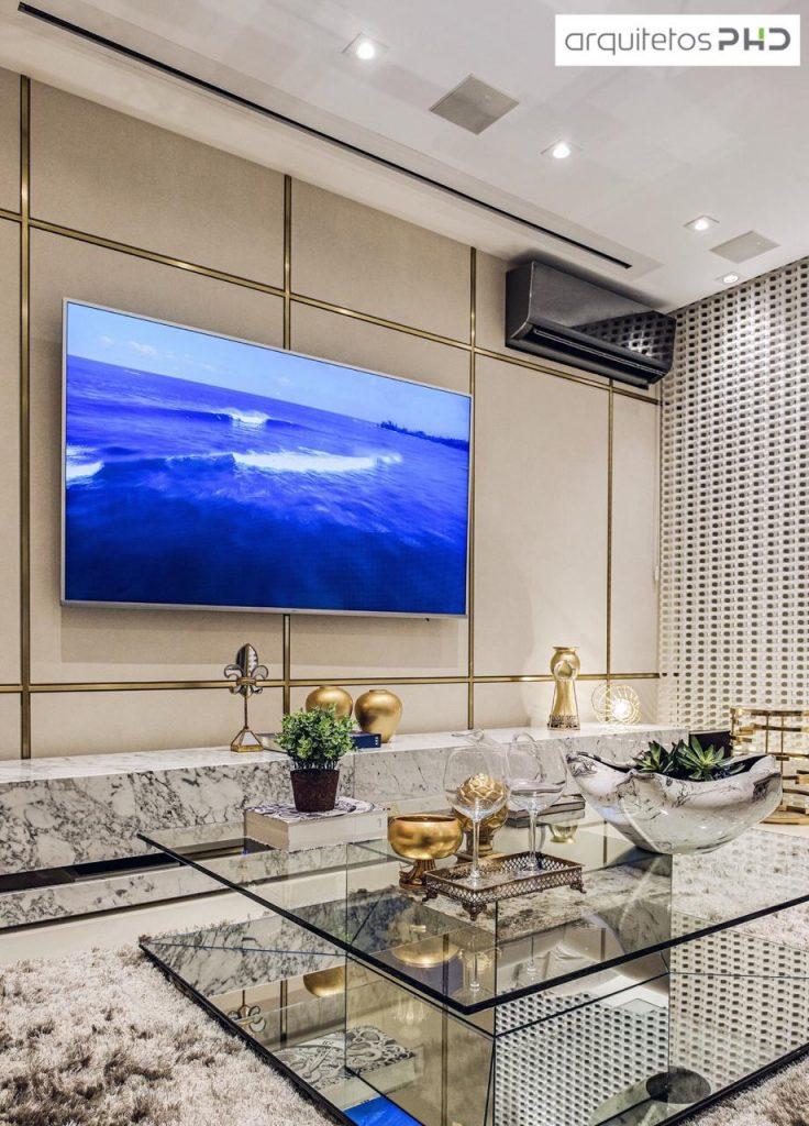 é possível ter um Home theater em ambientes pequenos