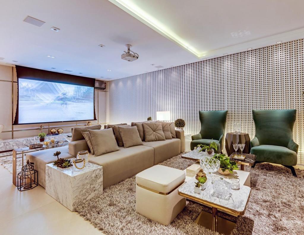 Tela de projeção ideal para o seu Home theater