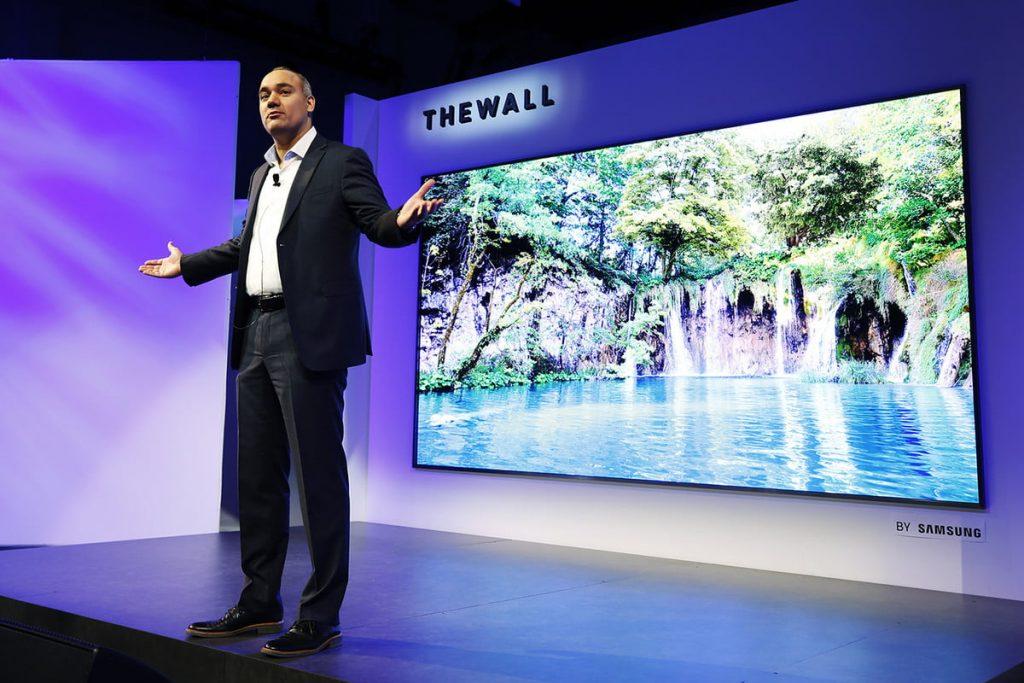 tv 8k Consumer Electronic Show 2019