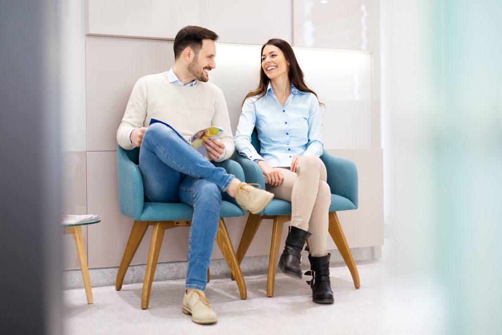 Salas de espera, o que fazer para torna-las mais agradáveis?