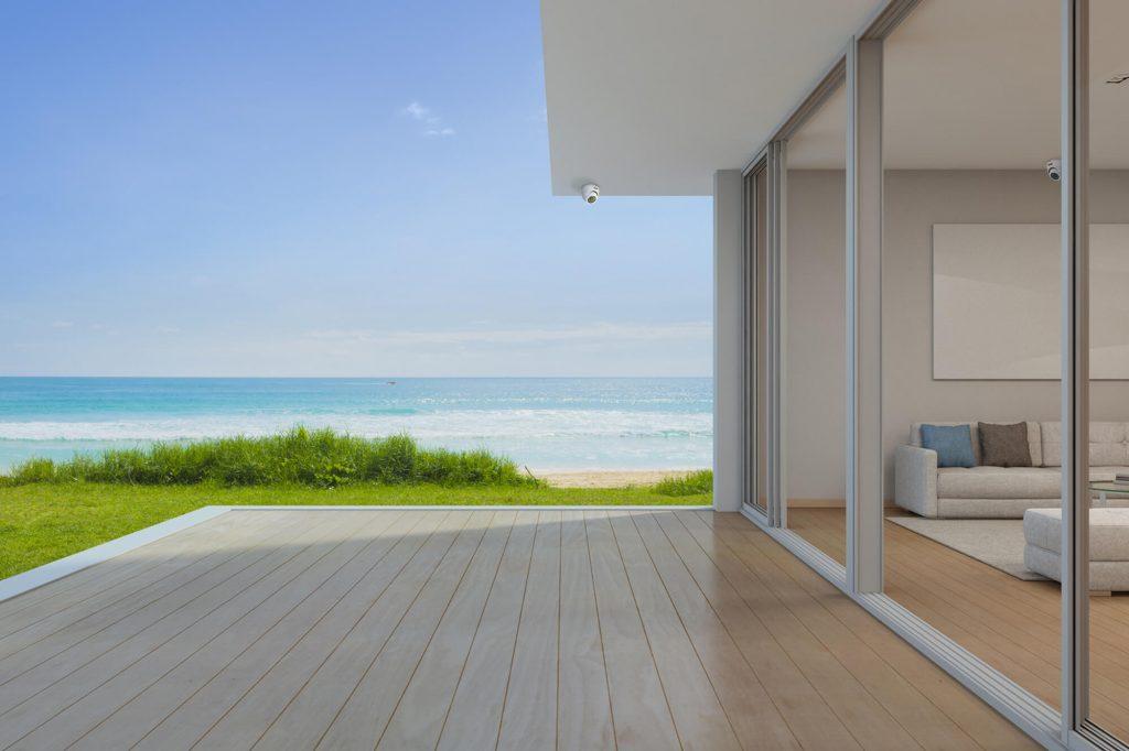 como a automação residencial pode melhorar a segurança da sua casa de praia